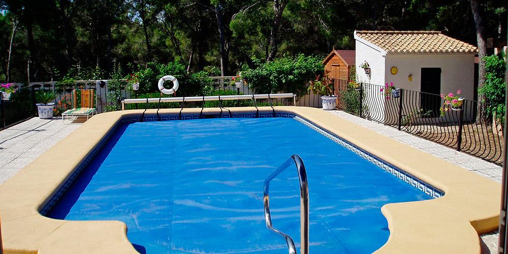 Invernaje de la piscina con Tejar Viejo