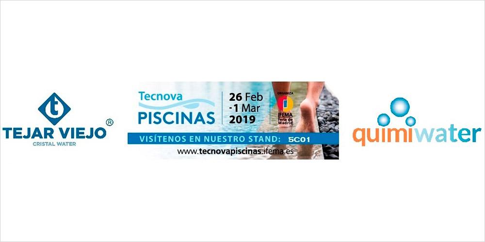 Tejar Viejo estará en Tecnova-PISCINAS 2019
