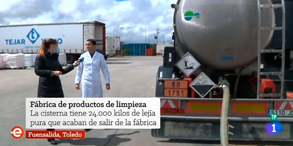 Hipoclorito Tejar Viejo en España Directo (RTVE)
