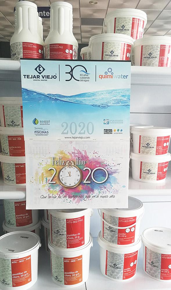 Calendario 2020 Tejar Viejo